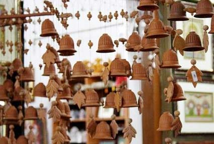 Handicrafts at the local market