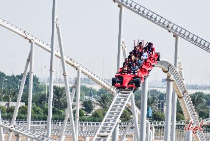 Ferrari World Theme Park In Abu Dhabi