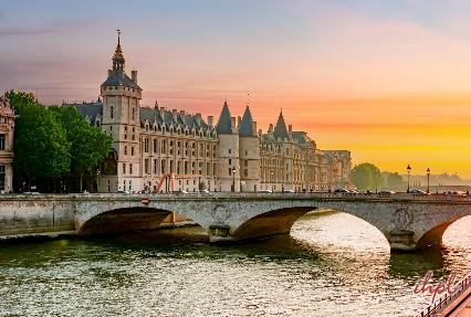 Conciergerie Building in Paris