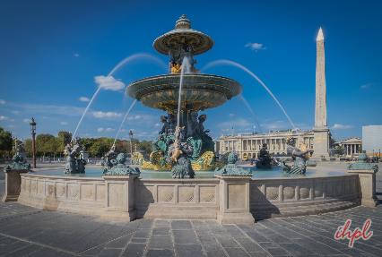 Place de la Concorde Plaza in Paris