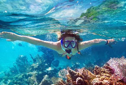 Windsurfing Sport in maldives