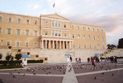 Syntagma Square Historical landmark in Athens, Greece