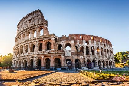 Colosseum Amphitheatre in Rome, Italy
