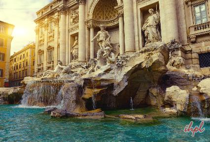 Trevi Fountain Fountain in Rome, Italy