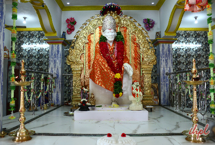 Sai Baba Temple in Shirdi Maharashtra