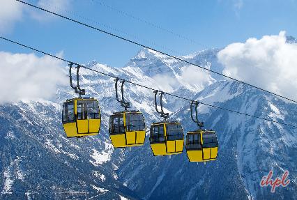 Titlis Mountain in Switzerland