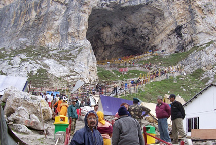 Amarnath holy cave