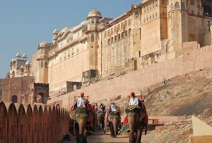 Elephant-Ride-to-Amber-Fort