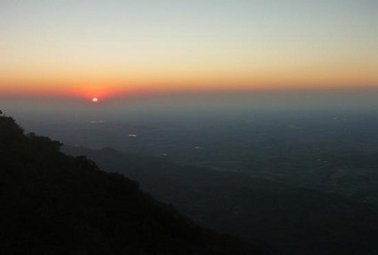 Sunset Point at Mount Abu