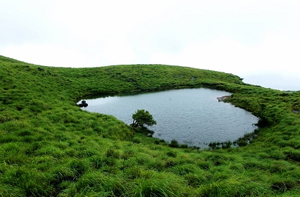 Heart Shaped Lake in Wayanad