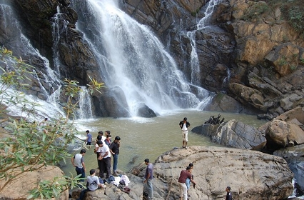 Meenmutty waterfall