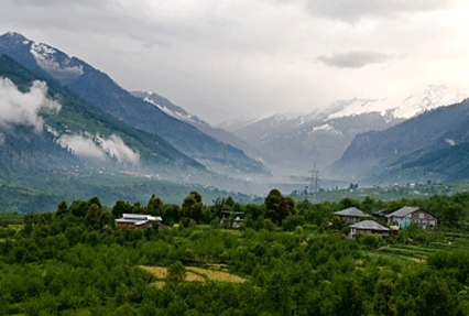 Kangra Valley in Himachal Pradesh