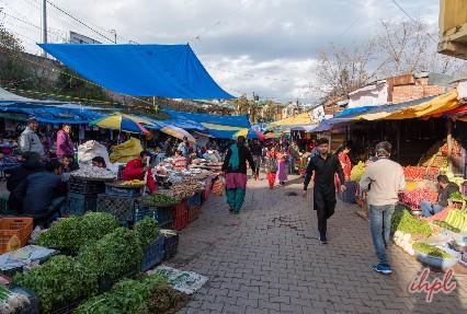 Shopping at Naya Bazaar