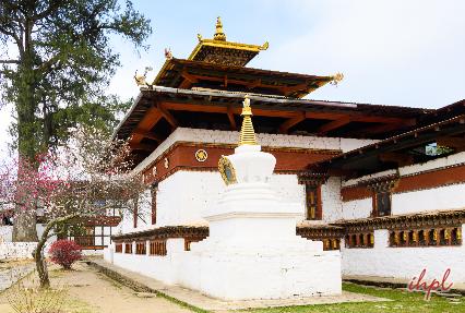 Kichu Lhakang Temple in Bhutan