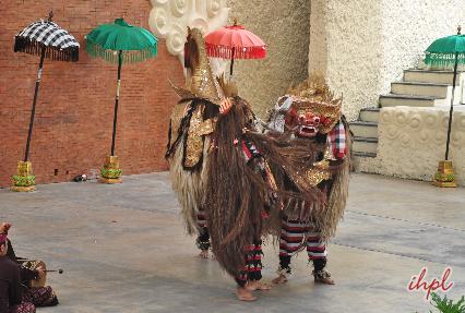 Kecak dance performance