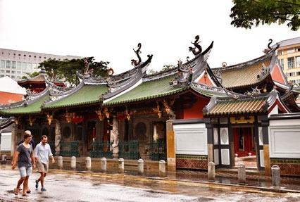 chinese architecture in singapore
