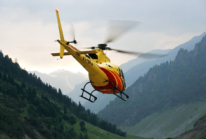Amarnath yatra by helicopter via pahalgam