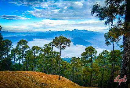 Hills in chamba