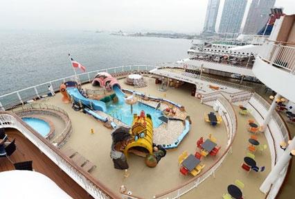 Cruise halt at Kaohsiung