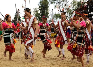 traditional reception of Naga Tribes