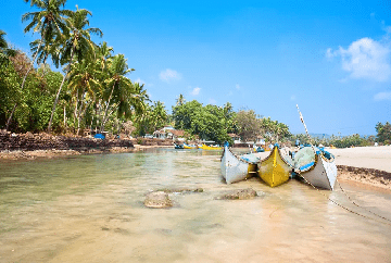 water sports activity in goa