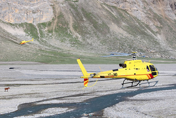 Amarnath helicopter yatra from baltal