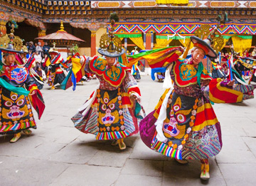 enjoy bhutan folk festival during 11 days tour
