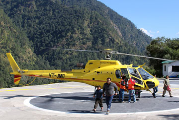 Kedarnath package by helicopter