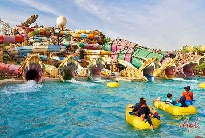 Enjoy at Yas Water Park, Dubai