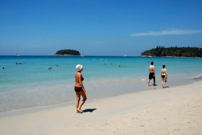 Enjoyment at Thailand beach