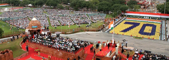 Independence Day festival in new delhi