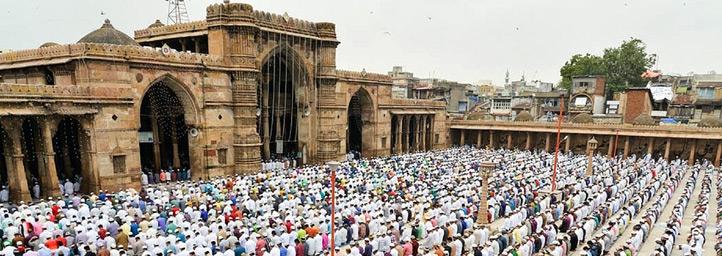 Id-ul- Fitr festival in Gujarat