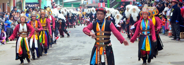 Torgya Monastery, festival in arunachal pradesh