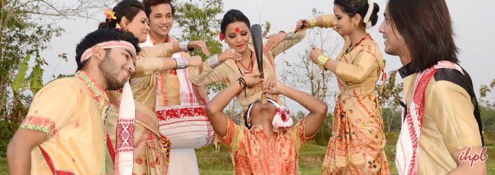 Bohag Bihu festival in asssam