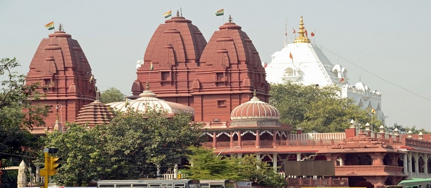 Digambar Jain Temple in New Delhi - Sri Digambar Jain Lal ...