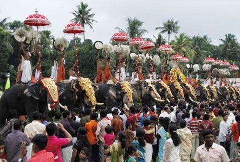 Adoor Gajamela Festival In Kerala 2016 Festivals In Kerala
