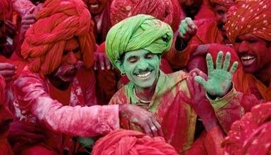 Image result for holi in rajasthan