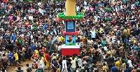 Behdienkhlam festival in Meghalaya
