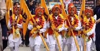 Birthday of Guru Govind Singh festival in Punjab