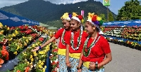 International flower festival in Sikkim, India
