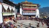 Torgya monastery festival in Tawang, Arunachal Pra