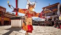 Yuru Kabgyat festival in Leh, Jammu & Kashmir