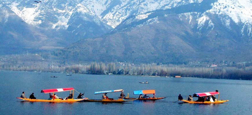 Shikara ride on the Dal Lake