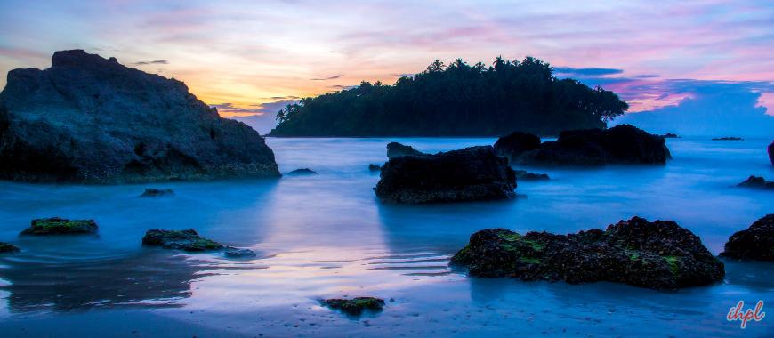 Dharmadam Island in Kerala