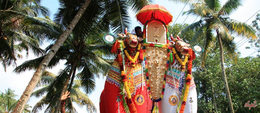 ochira temple in Kerala