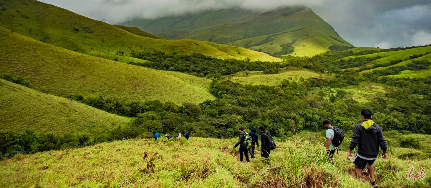 Kudremukh Mountain range in Karnataka