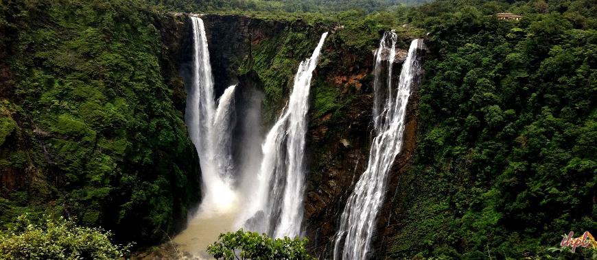 Jog Falls Waterfall, Shimoga in Karnataka