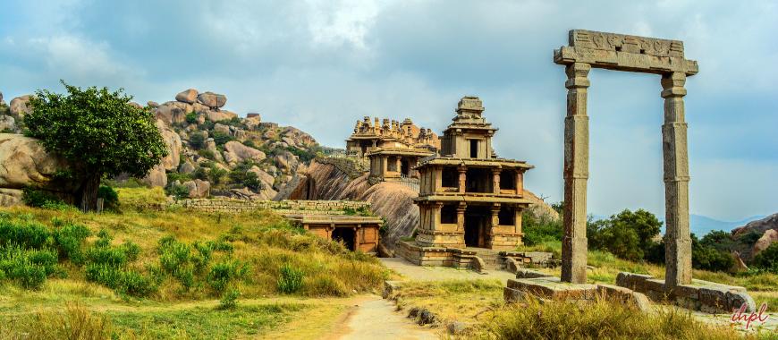 Chitradurga city in Karnataka