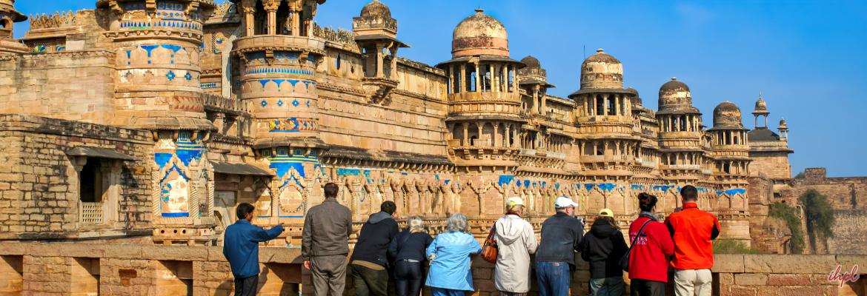 Gwalior city in Madhya Pradesh