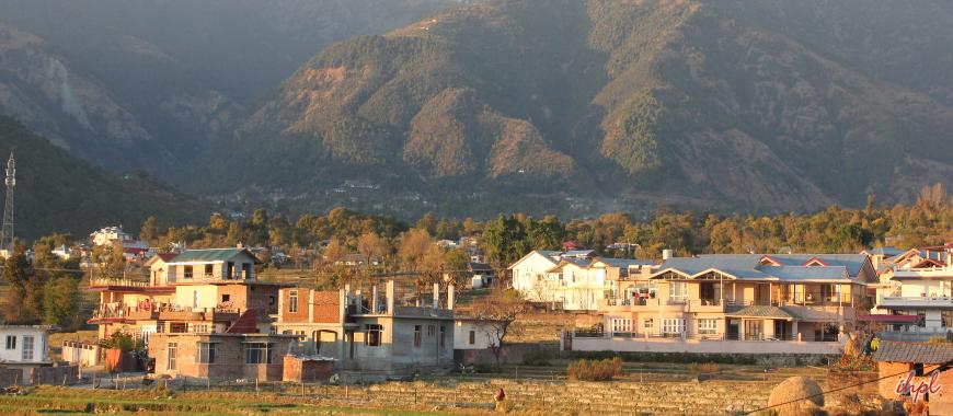 Palampur town in Himachal Pradesh
